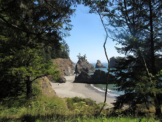 Secret or Paradise Cove the Oregon Coast