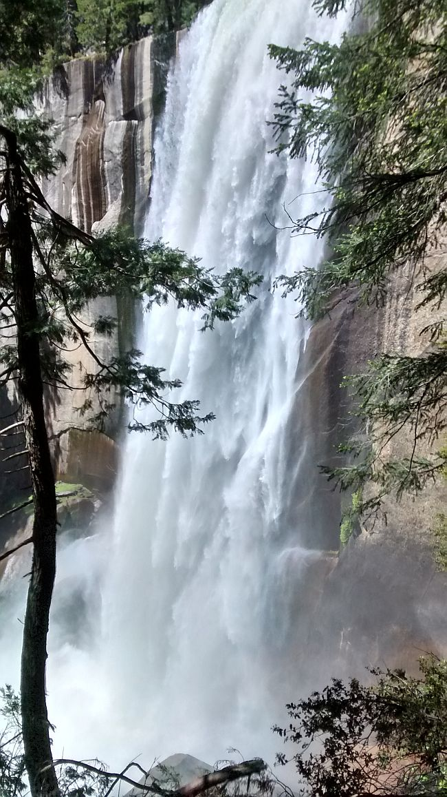 Vernal Falls Top Yosemite June 2016 For Web
