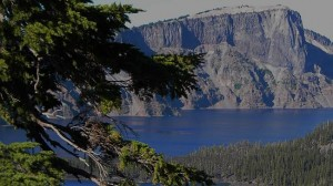 Crater Lake and Fir